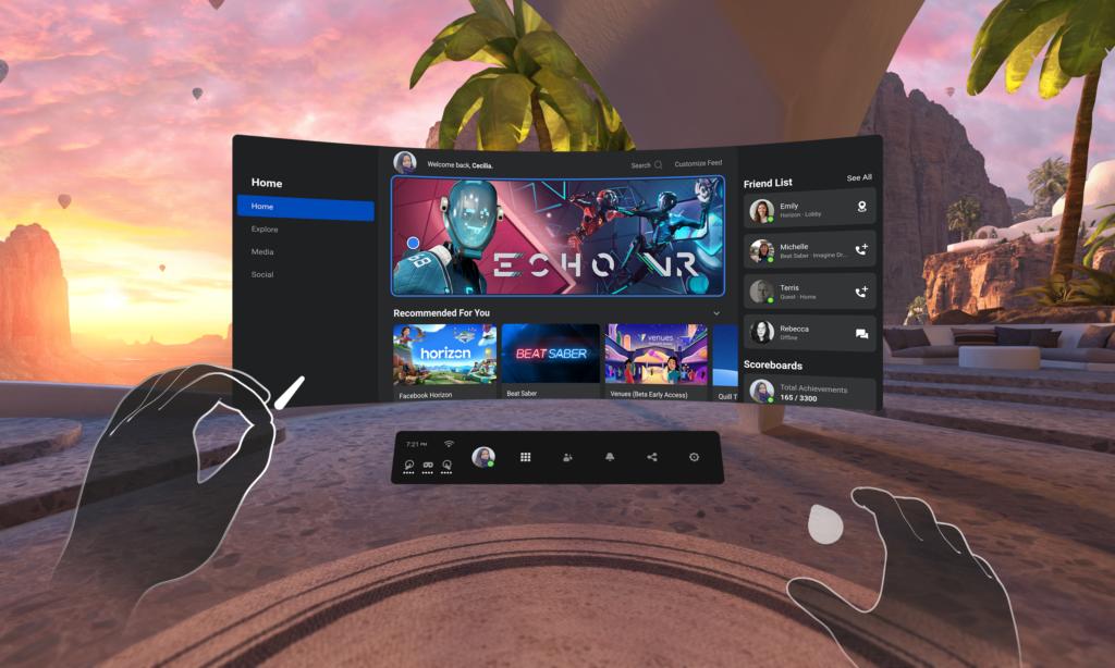 Oculus-quest-2-VR-očala