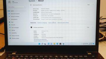 Test kompatibilnosti sistema Windows 11 smo opravili na vrhunskem prenosniku Lenovo ThinkPad T460s, ki po obliki, zmogljivosti, sploh pa ceni, prekaša vrsto novih prenosnikov.